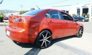 2011 Mitsubishi Lancer CJ MY12 ES Orange 6 Speed Constant Variable Sedan