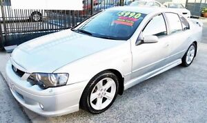 2005 Ford Falcon BA MkII XR6 Silver 4 Speed Auto Seq Sportshift Sedan Underwood Logan Area Preview