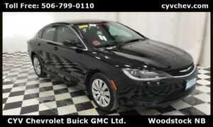 2015 Chrysler 200 LX - 9 Speed Automatic, Bluetooth & XM