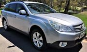 2011 Subaru Outback B5A MY12 2.5i Lineartronic AWD Silver 6 Speed Constant Variable Wagon Medindie Walkerville Area Preview