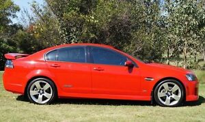 2008 Holden Commodore VE SS V Red 6 Speed Sports Automatic Sedan Bundaberg West Bundaberg City Preview