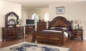 8 PCS QUEEN BEDROOM SET SPECIAL OFFER ONLY FOR 4350$