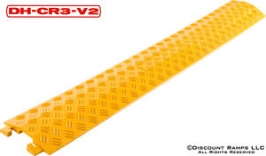 SNAKE DROP OVER CABLE COVER-WIRE PROTECTOR RAMP BOARD (DH-CR3-V2)