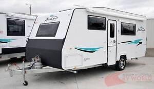 NEW Avan Aspire 555 Caravan - shower toilet - light & easy tow Wodonga Wodonga Area Preview