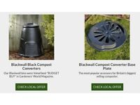 Free 'Award Winning' Compost Bin and base for Compost Beginners