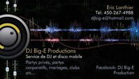 DJ services for all type of events (weddings, x-mas parties...)