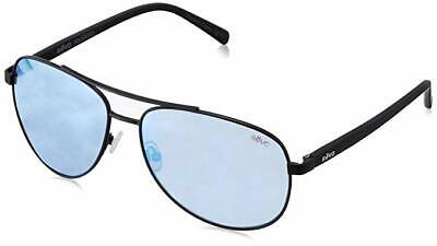Revo RE5021 Shaw Aviator Polarized Sunglasses, Black/Blue Water, (Revo Aviators)