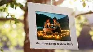 Loving wedding anniversary and birthday video Peterborough Peterborough Area image 2
