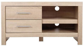 Turnbridge TV unit - Light Oak