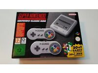 Super Nintendo (SNES) Classic Edition - Brand New & Unboxed.