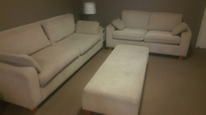 Fabric 5 seater lounge set North Parramatta Parramatta Area Preview