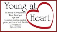 Young at Heart 55+ Luncheon