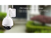 Foscam FI9828P PTZ 3x Optical Zoom Wireless IP outdoor Camera 1280x960P 1.3MP