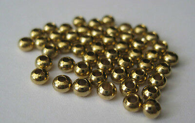 in 2.3mm 2.7mm 3.2mm and 3.8mm Gold Cyclops Tungsten Bead Heads for Fly Tying