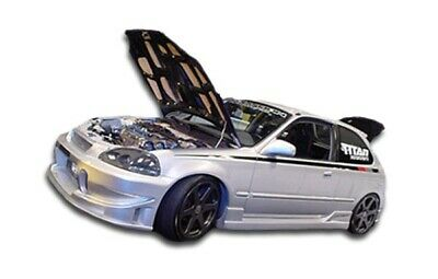 96-00 Honda Civic 2DR Buddy Duraflex Side Skirts Body Kit!!! 101738 ()