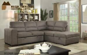 Fabric Sectional with pull-out Sleeperon Sale (BD-2448)