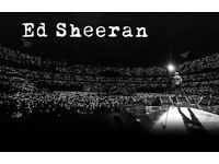 Ed Sheeran Ticket Newcastle 8th of June. Open to OFFERS/SWAPS