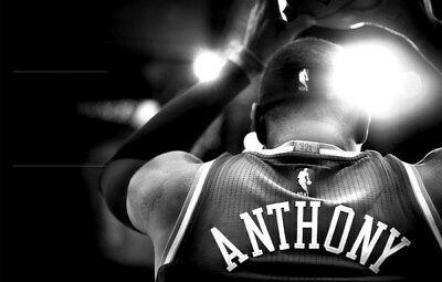 """106 Carmelo Anthony - OKLAHOMA CITY THUNDER OKC Melo NBA Star 21""""x14"""" Poster"""