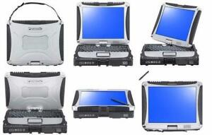 Panasonic Toughbook Multi TouchScreen CF19 Laptop intel core i5 8GB RAM GPS 3G Windows7Pro or Win10 BONUS: FREE 1TB HD