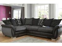 Corner fabric sofa in very good condition