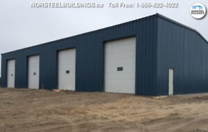 Steel Buildings- Clearance!