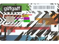 Giffgaff SIM cards top up and get £5 free