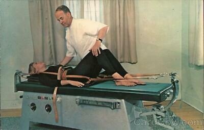 Advertising HIll Anatomotor Table Dexter Color Chrome Postcard Vintage Post Card