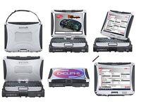 Car and van diagnostic laptop Delphi. Amazing set