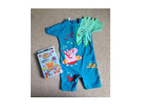 Boys swimsuit (2-3 yrs) & arm bands