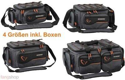 Savage Gear System Box Bag S M L XL inkl. Boxen Angeltasche Schultertasche (Boxen-tasche)