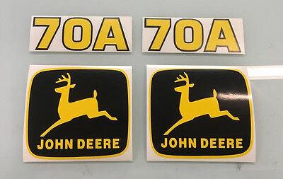 John Deere 70a Loader Decals