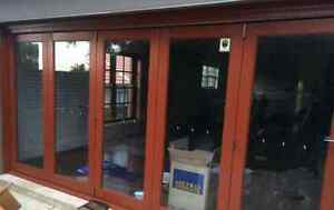 Cedar Bi-fold Doors - 4310 x 2140 2 yrs old GREAT Condition Hornsby Heights Hornsby Area Preview