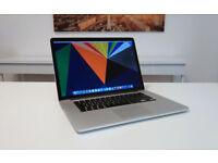 MacBook Pro 15inch Retina - 2012 - i7 - 8gb RAM - 256gb SSD - Receipt & Warranty