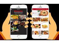 MOBILE APPS FOR TAKEAWAYS & RESTAURANTS, TAKEAWAY & RESTAURANT IPHONE ANDROID APP DEVELOPER DESIGNER