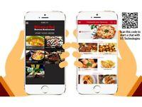 50% OFF TAKEAWAY APP RESTAURANT APP DEVELOPER DESIGNER IPHONE ANDROID MOBILE APP FOR TAKE AWAY
