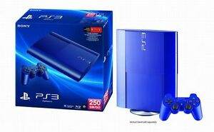 Playstation 3 (PS3) Console - Limited Edition Blue