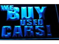 All cars and vans bought for cash