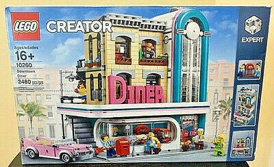 **SHIPS GLOBAL* LEGO 10260 Downtown Diner  Creator!  (NEW  & SEALED)