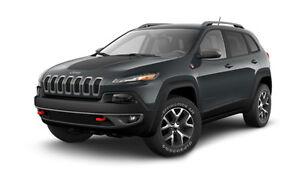 2015 Jeep Cherokee trailhawk gris fonce VUS