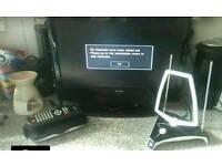 19 inch tv. Freeview box. Airiel