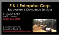Excavation, dump truck and float services