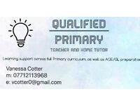 Qualified Primary Tutor