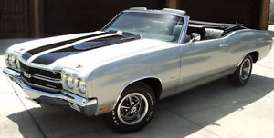 1970 Chevelle SS Convertible Wanted