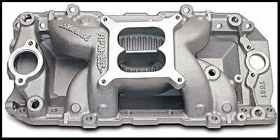 (Edelbrock 7561 Performer RPM Air Gap Intake Manifold BBC Chevy Oval Port #7561)