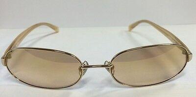 MIU MIU of Prada NEW gold Oval SUNGLASSES SMU52D 5AK-6R1 CLEARANCE SALE (Prada Clearance Sale)