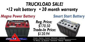 NEW 12 Volt Battery - 20 Month Warranty - Toughest London Ontario image 1