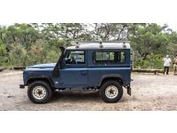 LANDROVER DEFENDERS WANTED CASH PAID