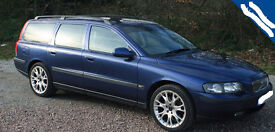 VOLVO V70 T5 ESTATE LONG MOT TOP SPEC FSH