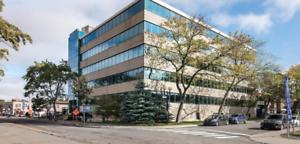 Espace de bureau à louer dans un immeuble médical