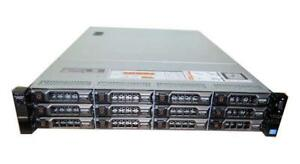 DELL R720XD Server 2xE5-2690-V2 3.60GHz 256GB 12X4TB SAS 7.2K PERC-H710P RAID